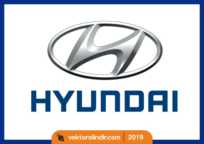 Hyundai Logo Vektör