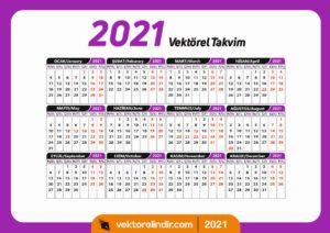 2021-takvim-türkce-tarih