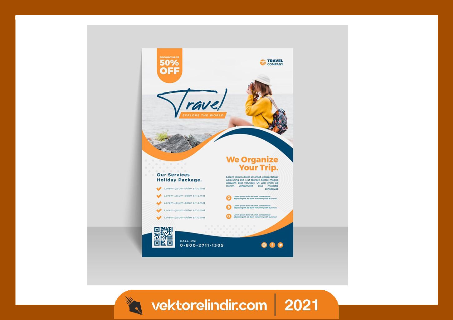 Seyahat-afiş-logo-banner-grafik
