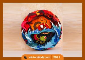 dragon-kesim-cnc-logo-vektorel-dragon-lazer