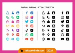 sosyal-medya-icon-logo-vektor